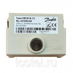 Sadegšanas kontrolieris Danfoss OBC 81A.12 057H8106
