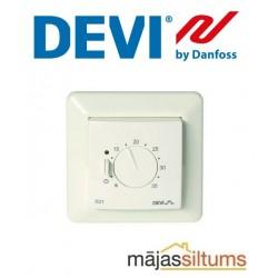 Zemapmetuma termoregulators devireg™ 531, 5..35°C, 15A, ar telpas sensoru ar JUSSI rāmi