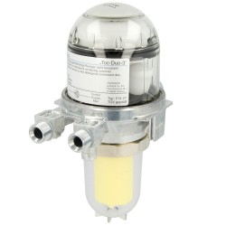 Degvielas atgaisotājs Oventrop TOC-DUO 3 ar filtru 25-40mikr.