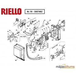Termostats deglim Riello Gulliver RG02R-RG1R