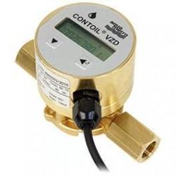 Degvielas skaitītājs Aquametro VZD4 1/8'' PN16 1-80 l/st. ar displeju un impulsu izeju