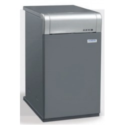 Tērauda apkures katls Clima PLUS H 26,5kW, DHW heater 12,2l/min, diesel oil burner