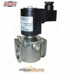 Solenoīda vārsts gāzei Madas EV-1 DN15 P.max: 1bar, 230V/50-60Hz