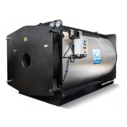 Trīsgājiena tvaika katls ICI Caldaie GSX1100 1100kg/st., 824kW, 12bar, 1 sūknis