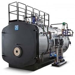 Trīsgājiena tvaika katls ICI Caldaie GSX1100 1100kg/st., 824kW, 12bar, 2 sūkņi
