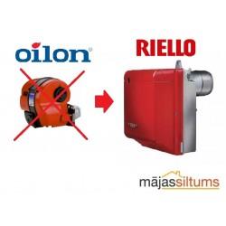 Deglis Oilon Junior Bio PRO LJ10 17-27 kW-nav pieejams, analogs Riello Gulliver RG0R (2.gadu garantija)