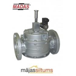 Solenoīda vārsts gāzei Madas M16/RM N.C. DN32 (atloku) 6bar 230V/50-60Hz, manuāla atvēršana