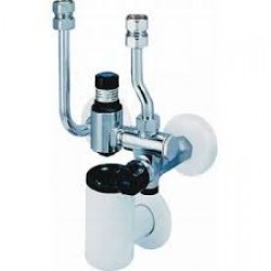 Drošības grupa Honeywell  SG162. Incorporate all the necessary safety devices such as non return valve, shutoff valves test point and diaphragm type safety valve in one unit. DN15, for hot water heaters up to 200 ltr. Set pressure 10.0Bar. Tmax-70C