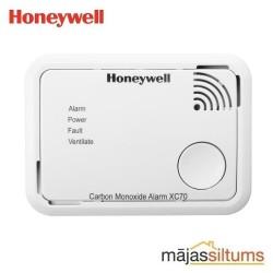 Detektors Honeywell XC70, CO (oglekļa monoksīds). 7 gadu darbība un garantija. Darbība ar baterijām.
