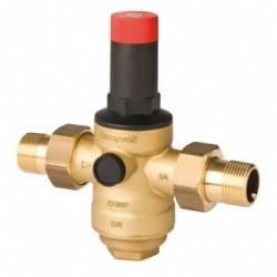 Spiediena redukcijas vārsts Honeywell, ieejas spiediens līdz 25 bar, izeja 1.5-12.0 bar, DN40, Kvs - 12.6, Tmaks - 60(70)C