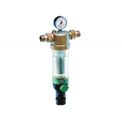Reversās skalošanas ūdens filtrs Honeywell DN32, Kvs-17,4 , Tmaks-40C, PN16, filtra elements-100mikr.