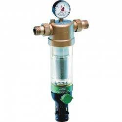 Reversās skalošanas ūdens filtrs Honeywell DN20, Kvs-9,6 , Tmaks-40C, PN16, filtra elements-100mikr.
