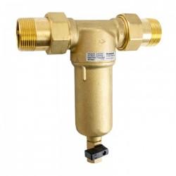 Skalojamais filtrs Honeywell DN25, karstam ūdenim līdz+70°C (bronzas kolba)