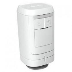 Bezvadu radiatora piedziņa ar integrētiem temperatūras sensoriem. Dif. +-0,5°C. Atbilst EN300 220.